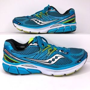 Saucony Omni 14 Womens Size 8.5 Blue Running Shoes